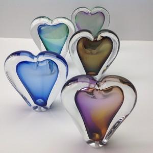 UO2 As- hartje Inh. 50 ml Afm. 12 cm Diverse kleuren € 75,00