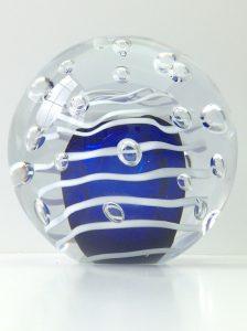 As- universe U33 bol koningsblauw met bubbels € 149,00