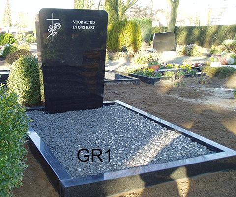 grafsteen staand