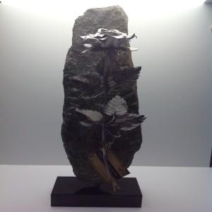 As roos 35 cm in brons RBR30 € 230,00