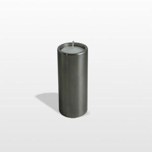 RVS urn candle rond 5 cm Inhoud 0,05 L afmeting 8 x 5 cm € 70,00